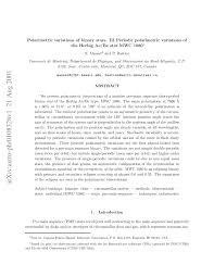 (PDF) Polarimetric Variations of Binary <b>Stars</b>. III. Periodic ...