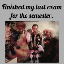 Finished My Last Exam For The Semester by reactiongifs - Meme Center via Relatably.com