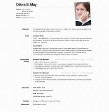 design   administrative online resume template