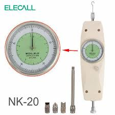 20N 2KG Dial Mechanical Push Pull Force Gauge Tester Meter <b>NK</b>-<b>20</b>