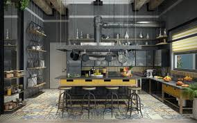 Industrial Style Kitchen Table 32 Industrial Style Kitchens That Will Make You Fall In Love