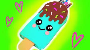 DIY <b>Kawaii</b> Pencil Case - <b>Ice Cream</b> Bar - YouTube