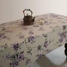 <b>Скатерть ALBA Вальс цветов</b> фиолетовая 140х200 см, цена ...