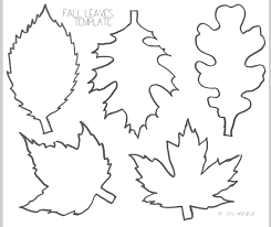 printable templates printable pages oil and blue fall leaf line drawing template printable