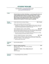 11 resume objective examples for students easy resume samples sample student resume high school
