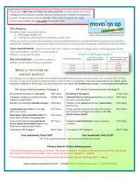 mou vip career communications options page jpg