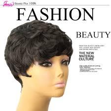 <b>Amir Short Wigs for</b> Women Black Short Synthetic Wig Cosplay ...