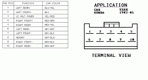 honda car stereo wiring diagram honda wiring diagrams online