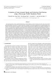 Evaluation of semi-actuated signals and <b>pedestrian push buttons</b> ...
