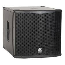 <b>Профессиональный активный сабвуфер</b> dB Technologies SUB15H