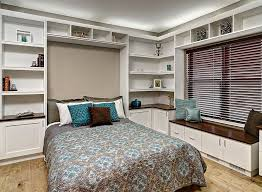 murphy bed is an easy add on for the home office guestroom design bedroom home office guest room tropical