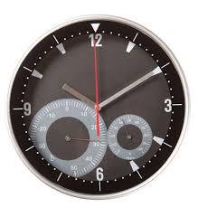 <b>Часы настенные Rule с</b> термометром и гигрометром, с ...