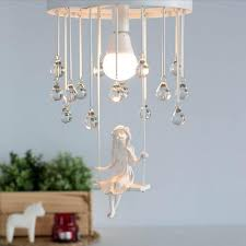 Modern Art Angel Chandelier Led Lamps <b>Nordic Creative Living</b> ...