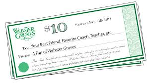 gift certificates webster groves mo official website gift certificates