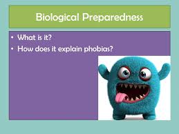 Biological Preparedness What is it  How does it explain phobias     SlidePlayer Key Points Evolutionarily relevant  adaptive  Automatic Can     t be cognitively controlled  at