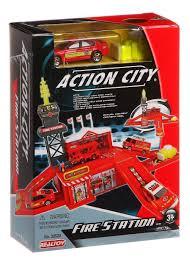 Купить игровой набор <b>RealToy</b> Action city <b>Пожарная станция</b> ...