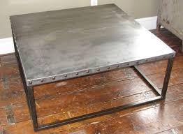 images zinc table top: design of zinc coffee table industrial zinc top coffee table at stdibs