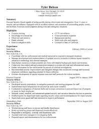 resume resume security guard image of template resume security guard full size