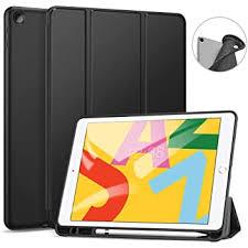 JETech Case <b>for iPad 8</b>/<b>7</b> , Auto Wake/Sleep, Black: Amazon.co.uk ...
