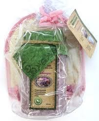 <b>Набор подарочный</b> банный <b>Proffi Sauna</b> Нежность соль+мочалка ...