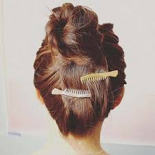 T4 <b>Fashion Jewelry Gold Color</b> Comb Design Hair Pin Korean Style ...