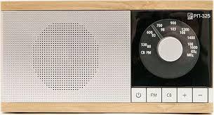 <b>Радиоприемник Сигнал БЗРП РП-325</b>, светло-коричневый ...