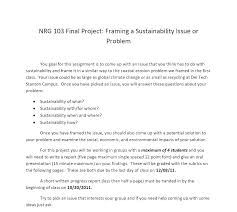 sustainability stew a recipe for problem framing and discussion appendix