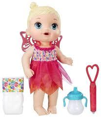 Интерактивная <b>кукла</b> Hasbro <b>Baby Alive Малышка</b>-фея, B9723 ...