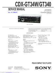 sony cdx 4000x wiring diagram wiring diagram and schematic sony cdx m610 ver 1 0 sm service manual schematics