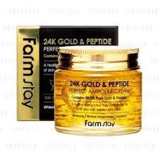 Buy <b>Farm Stay</b> - <b>24K Gold &</b> Peptide Perfect Ampoule Cream in Bulk ...