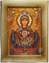 Икона из <b>янтаря Святой</b> Николай Чудотворец | Православные ...