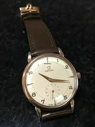 Купить часы Omega Hammer Ref. 2398 1 Cal. 332 <b>Gold</b> plated ...