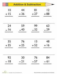 Two Digit Subtraction Worksheets Pdf - Adding and subtracting two ...Adding and subtracting two digit numbers no regrouping a