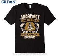 <b>GILDAN Summer Fashion Men</b> T Shirt Cool Architect T-shirts , Funny ...
