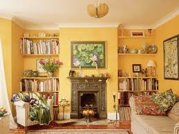 warm color small living room yellow warm living room color ideas  interior wall color schemes