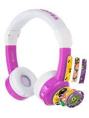 Наушники детские <b>InFlight</b> с микрофоном <b>BuddyPhones</b> 9901356 ...