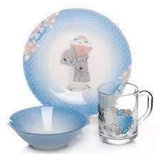 <b>Набор детской посуды Pasabahce</b> МИ ТУ Ю 3 предмета — купить ...