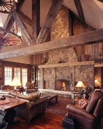 rustic style living room clever: western homestead ranch living room designer lynne barton bier