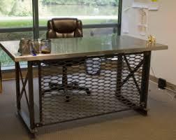 the mitica desk stainless steel carruca desk office