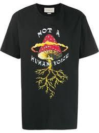 Купить мужские <b>футболки с</b> принтом <b>Gucci</b> в интернет-магазине ...