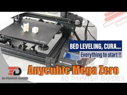 <b>Anycubic Mega Zero</b> leveling operation video - YouTube