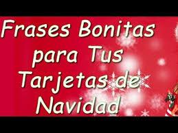 Frases Bonitas para Tus Tarjetas de Navidad - YouTube