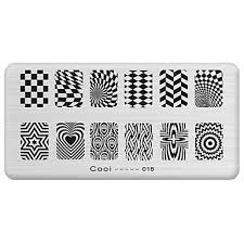 <b>1</b> pcs <b>Stamping</b> Plate Template <b>nail art Manicure</b> Pedicure Fashion ...