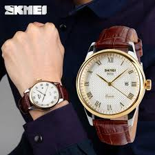 SKMEI <b>Fashion Men 30M</b> Waterproof Dress Watch British Style ...