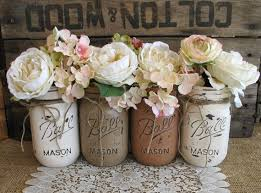 mason jars can be an easy diy project to make beautiful but inexpensive centerpieces or flower arrangements they add the perfect amo beautiful classic mason jar
