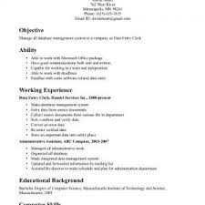 clerical resume example on positioning for clerical experience    clerical resume examples format pdf clerical resume examples format pdf sample resume clerical