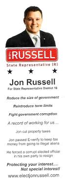 jon russell clark county conservative although