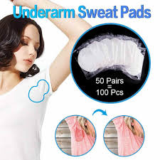 100/200/300/400pcs Disposable <b>Underarm</b> Sweat Pads for Clothing ...
