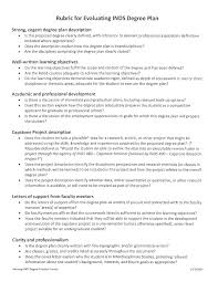 forms interdisciplinary studies umbc rubric