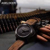 <b>Agelocer Switzerland Luxury</b> Brand Watches Men Wristwatch ...